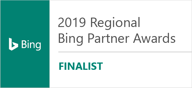 Regional Bing Partner Awards Finalist Badge