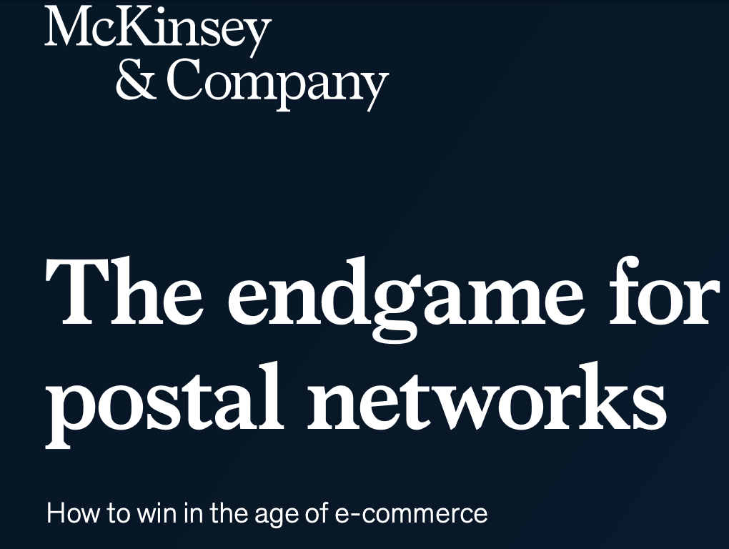McKinsey & Company Highlights Growth Opportunity For Global Parcel Markets